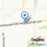 Межрегиональная Гильдия Риэлторов на карте Ярославля