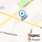 Алина на карте Ярославля