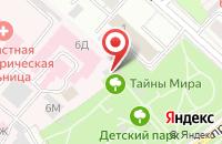 Схема проезда до компании Детский парк в Ярославле