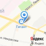 Е & E на карте Ярославля