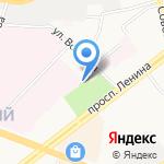 Детский парк на карте Ярославля