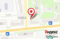 Схема проезда до компании ThreeBeans Coffee в Ярославле
