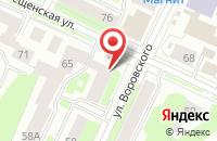Схема проезда до компании Арт Бизнес Центр в Вологде
