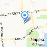 УФМС России по Ярославской области на карте Ярославля