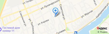 Каменсккомплект на карте Аксая