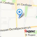 Квадрат на карте Ярославля