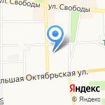 Фемида на карте Ярославля