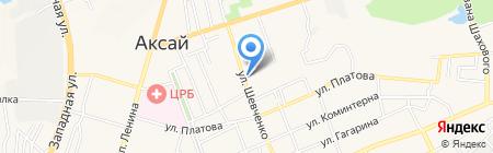 Жестяная мастерская на карте Аксая