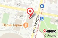 Схема проезда до компании Gyros в Ярославле