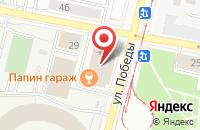 Схема проезда до компании Ковры Люкс в Ярославле