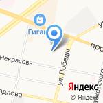 Федерация пауэрлифтинга Ярославского округа на карте Ярославля