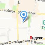Малышев М.В. на карте Ярославля