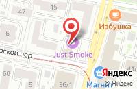 Схема проезда до компании Канцона в Ярославле