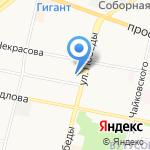 Аверс Плюс на карте Ярославля