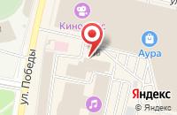 Схема проезда до компании ДайвОК в Ярославле