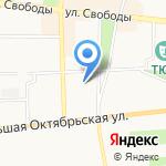 Солнечный город на карте Ярославля