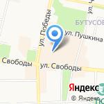 Svoboda_hostel на карте Ярославля