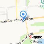 Культурно-просветительский центр им. В.В. Терешковой на карте Ярославля