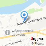 Эксплуатация-Яр на карте Ярославля