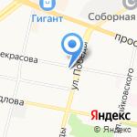 Адвокатская контора Ленинского района на карте Ярославля