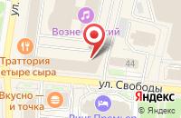 Схема проезда до компании Дом.ru в Ярославле