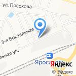 МТО на карте Ярославля