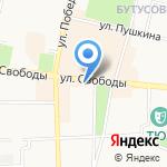 Дублин на карте Ярославля