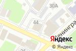 Схема проезда до компании Комсомольская правда в Вологде