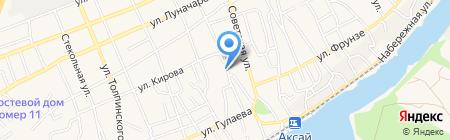 Архив документов по личному составу Аксайского района на карте Аксая