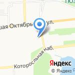 Церковь Николая Чудотворца Николо-Мокринского прихода на карте Ярославля
