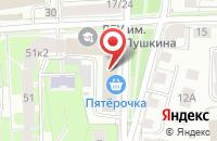 Схема проезда до компании ИТ-центр-Ярославль в Ярославле
