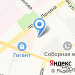 Аварийно-ремонтная служба на карте Ярославля