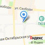 Твой Тур на карте Ярославля