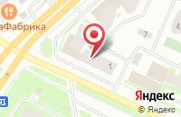 Схема проезда до компании Криста-Вологодская Область в Вологде