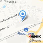 Монблан на карте Ярославля