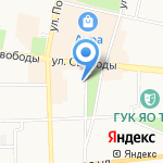 ГлобалТехноСтрой на карте Ярославля