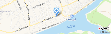 Администрация г. Аксая на карте Аксая