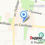 Вознесенская церковь на карте Ярославля