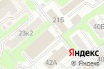 Схема проезда до компании Кардинал-авто в Ярославле
