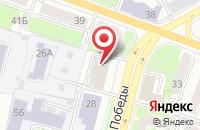 Схема проезда до компании Карамель в Ярославле