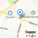 Кудесница на карте Ярославля