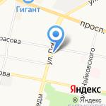 Подмосковье на карте Ярославля
