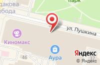 Схема проезда до компании Крошка картошка в Ярославле