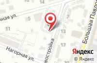 Схема проезда до компании ЯрЛюксСтрой в Ярославле