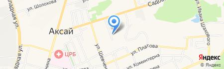 Айболит на карте Аксая