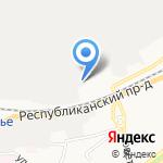 Завод фрикционных и термостойких материалов на карте Ярославля