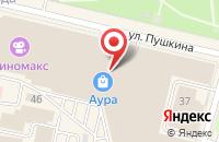 Схема проезда до компании Starbucks в Ярославле