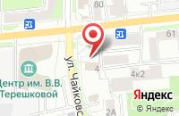 Схема проезда до компании Департамент охраны объектов культурного наследия Ярославской области в Ярославле