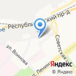 Управление образования Администрации Ярославского муниципального района на карте Ярославля