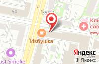 Схема проезда до компании На Некрасова в Ярославле